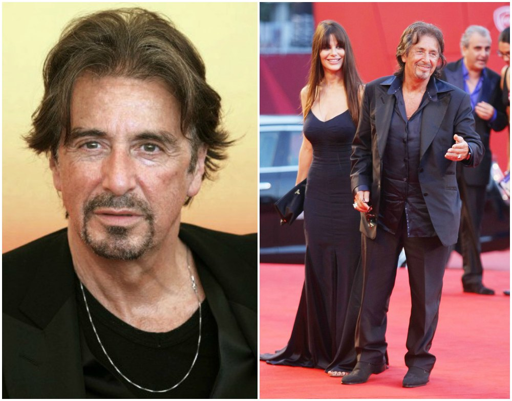Al Pacino`s height 167cm / 5'6 in