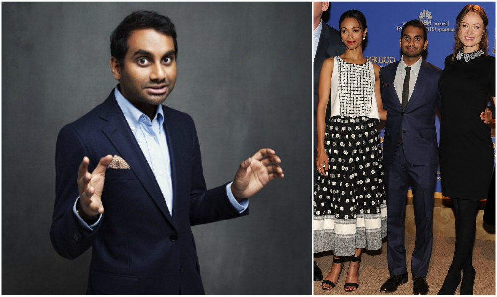 Aziz Ansari`s height 168 cm / 5'6.3 in