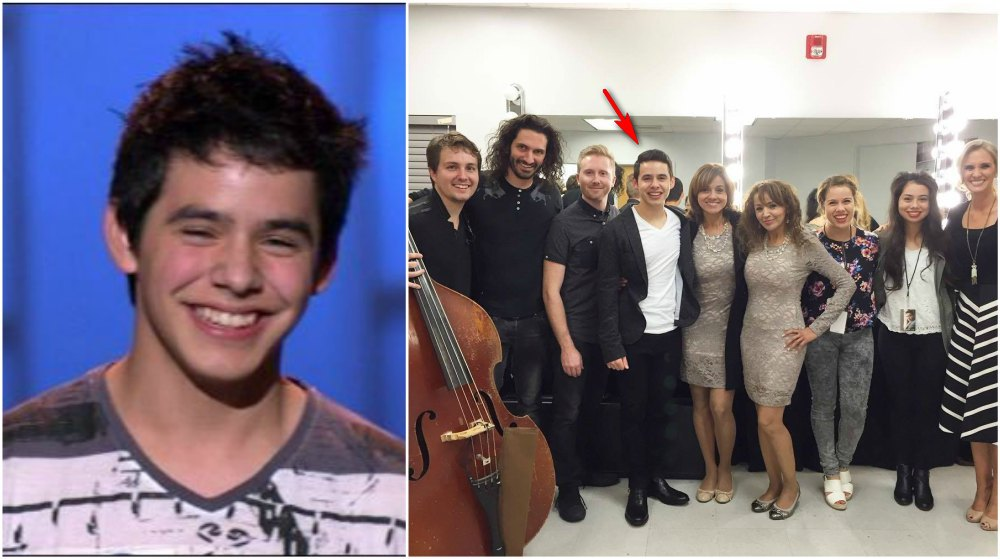 David Archuleta`s height 166cm / 5'5.5 in