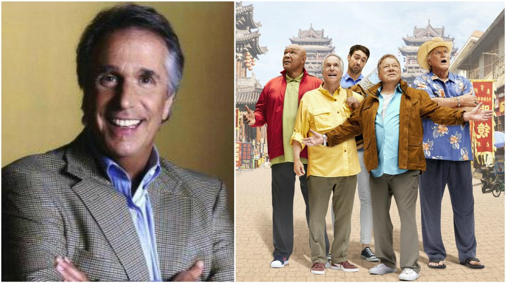 Henry Winkler`s height 168 cm / 5'6.3 in