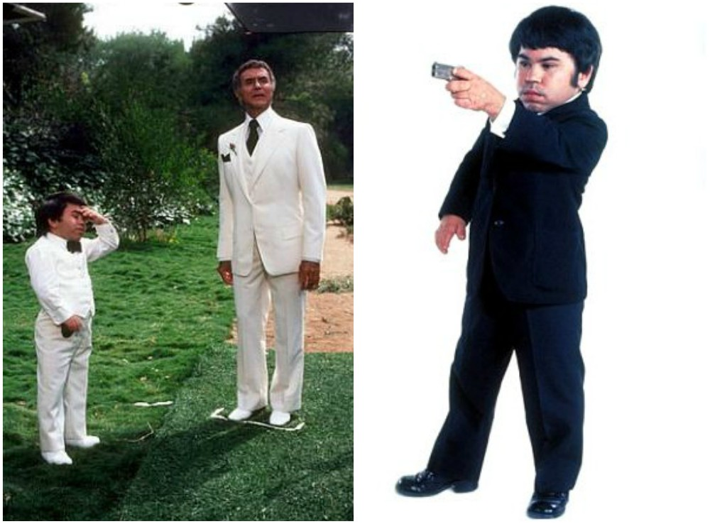Herve Villechaize`s height 117cm / 3' 10in