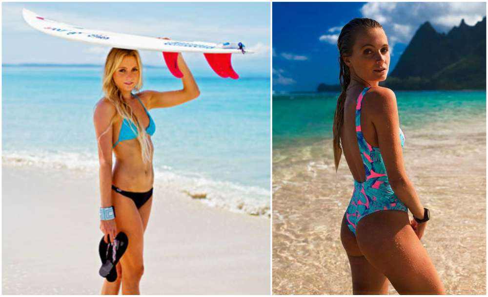 Hottest professional sports women - Alana Blanchard (Surfer)