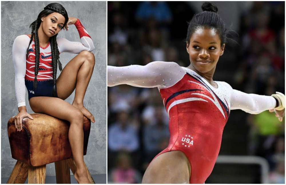 Hottest professional sports women - Gabby Douglas (artistic gymnast)