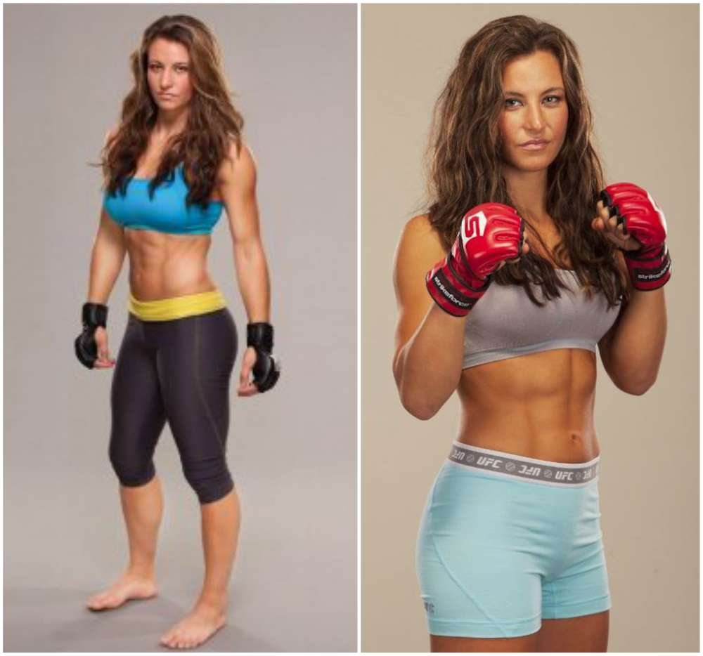 Hottest professional sports women - Miesha Tate (MMA)