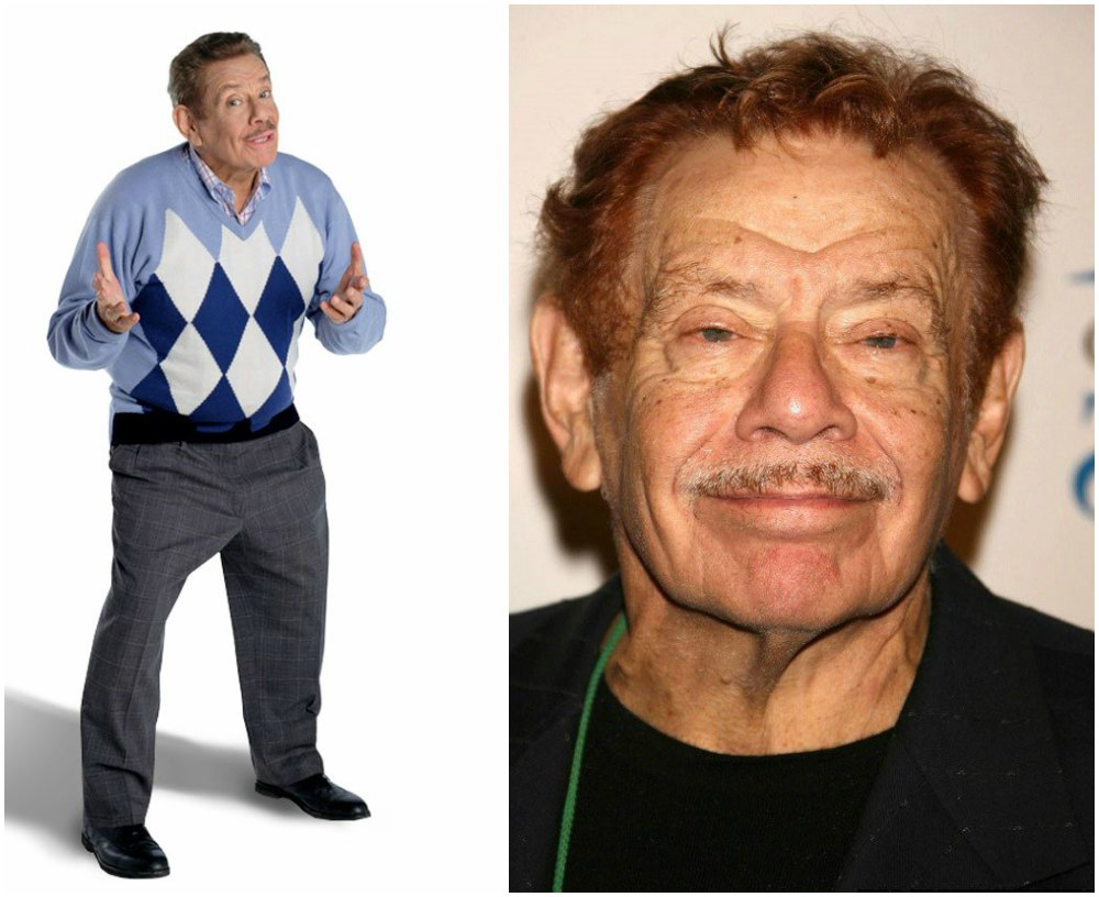 Jerry Stiller`s height 166cm / 5'5.5 in