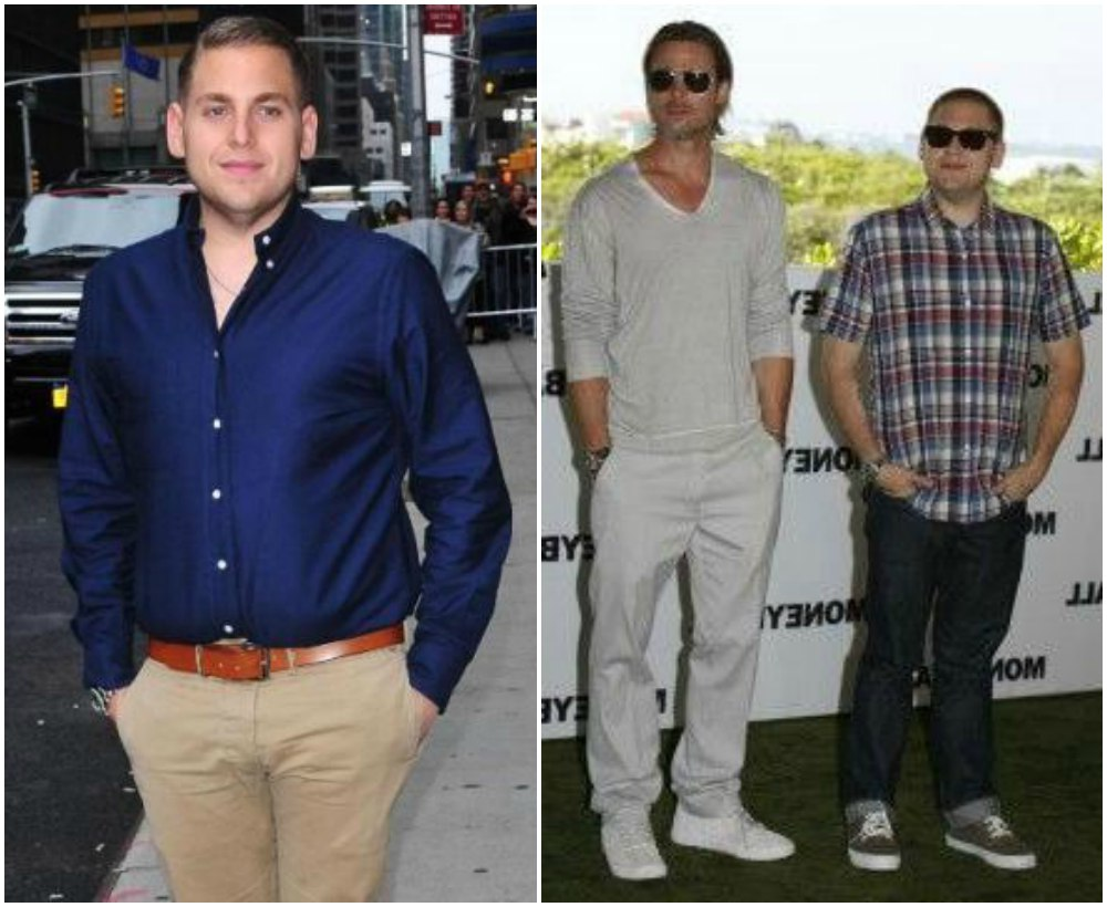 Jonah Hill`s height 170 cm / 5'7 in