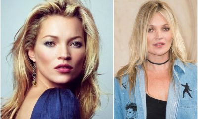 Kate Moss eyes, hair color