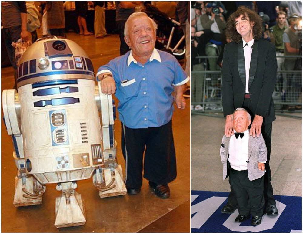 Kenny Baker`s height 112cm / 3' 8in