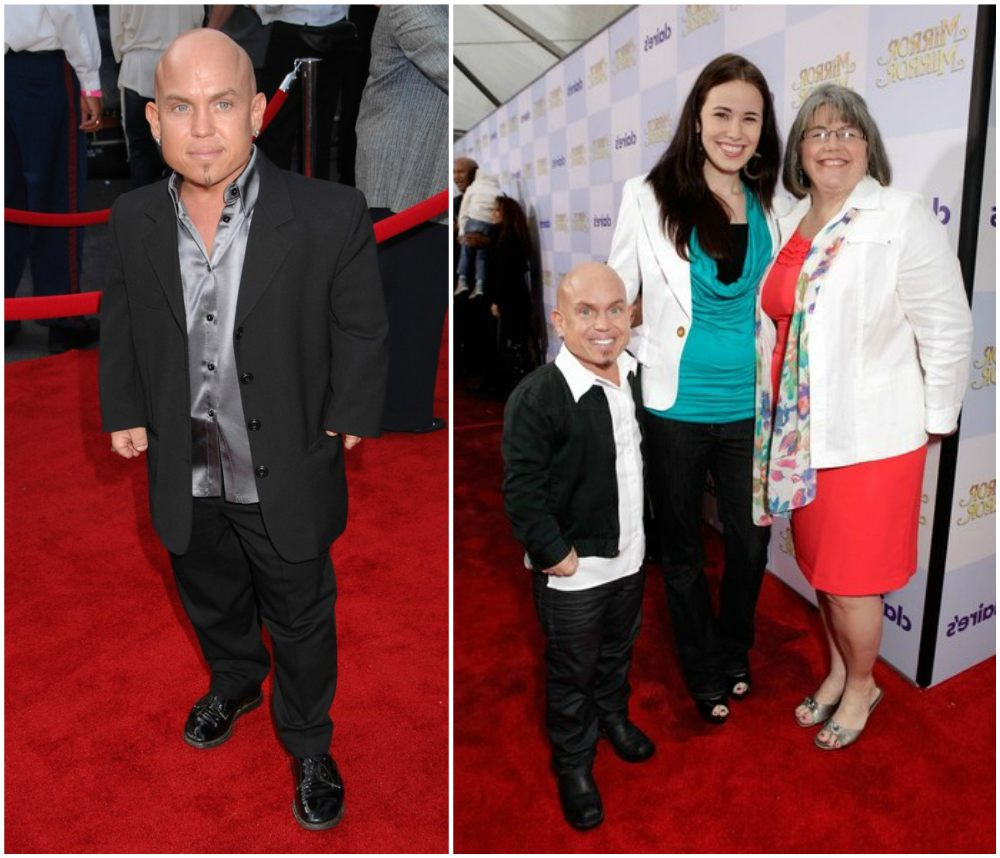 Martin Klebba`s height 124cm / 4' 1in