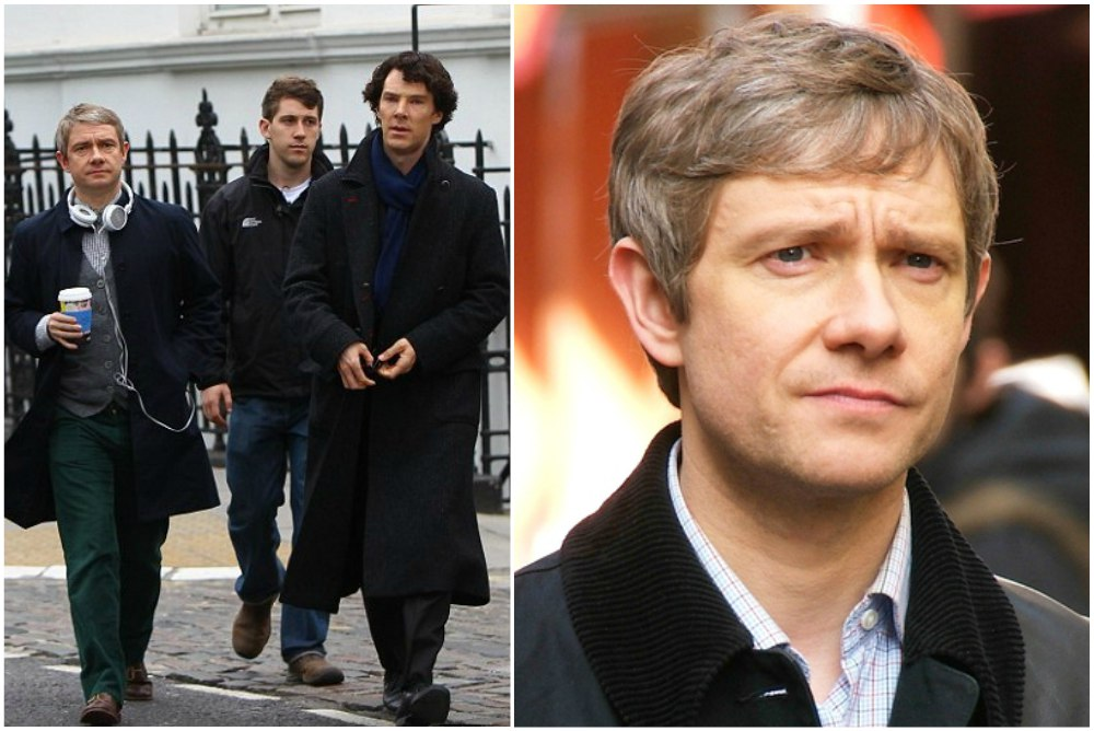 Martin Freeman`s height 169cm / 5'6.7 in