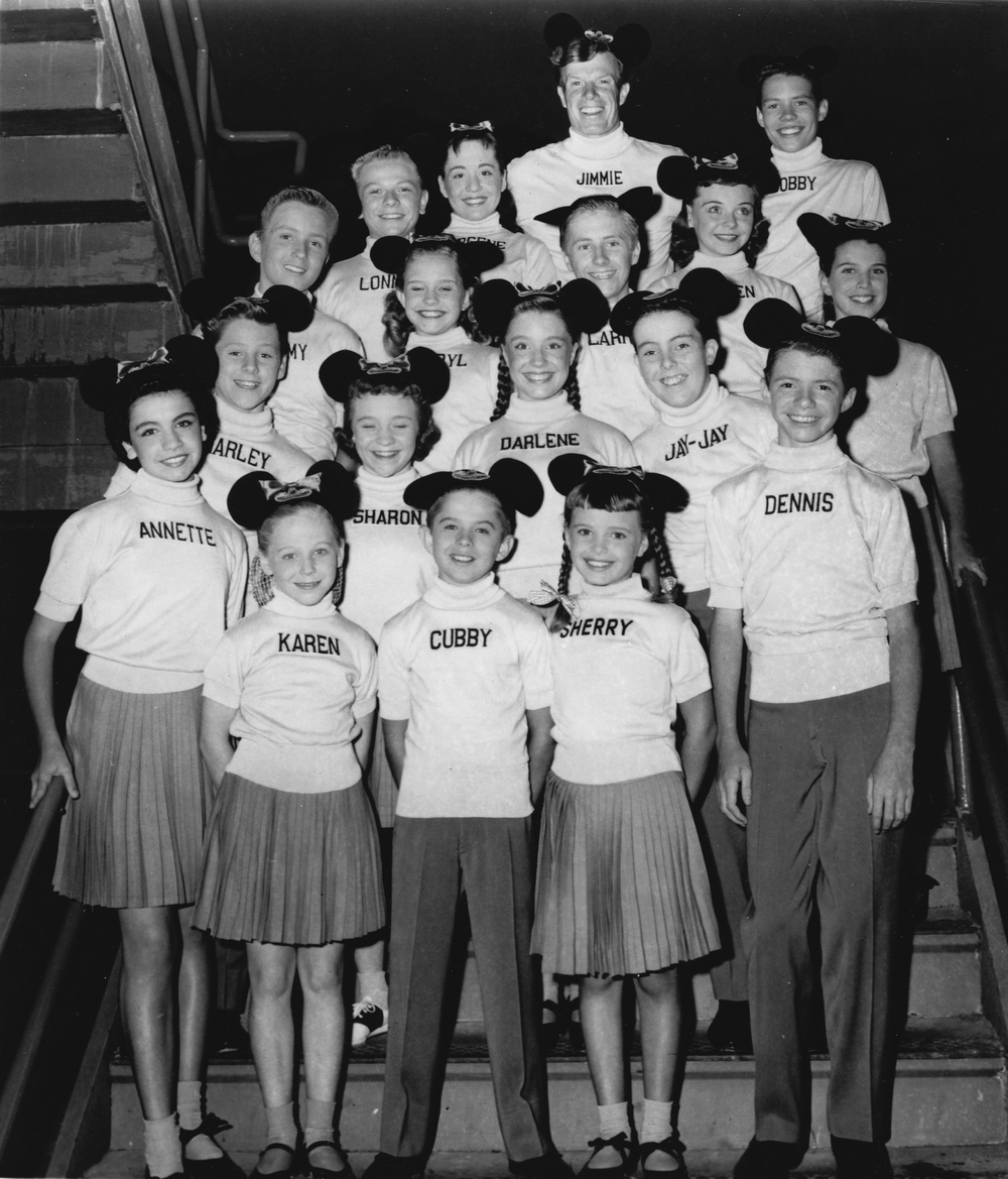 Mickey Mouse Club - Mouseketeers, 1957
