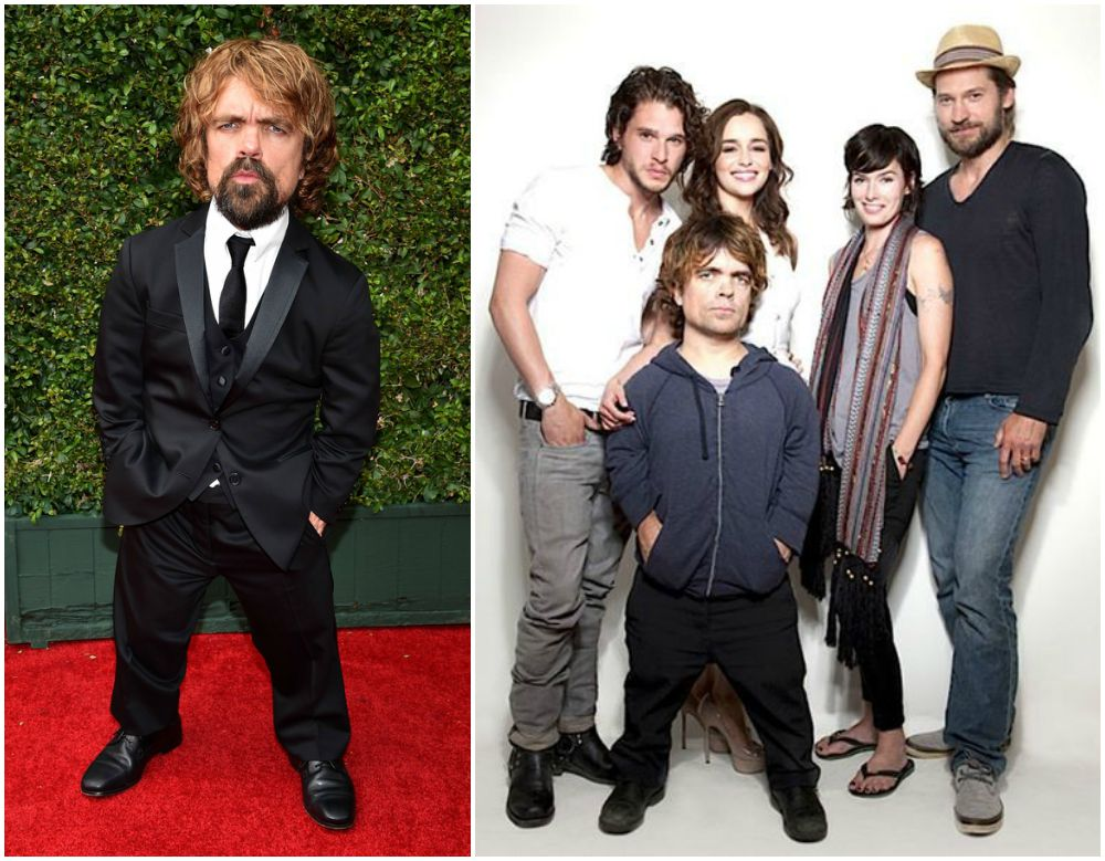 Peter Dinklage`s height 135 cm / 4' 5in