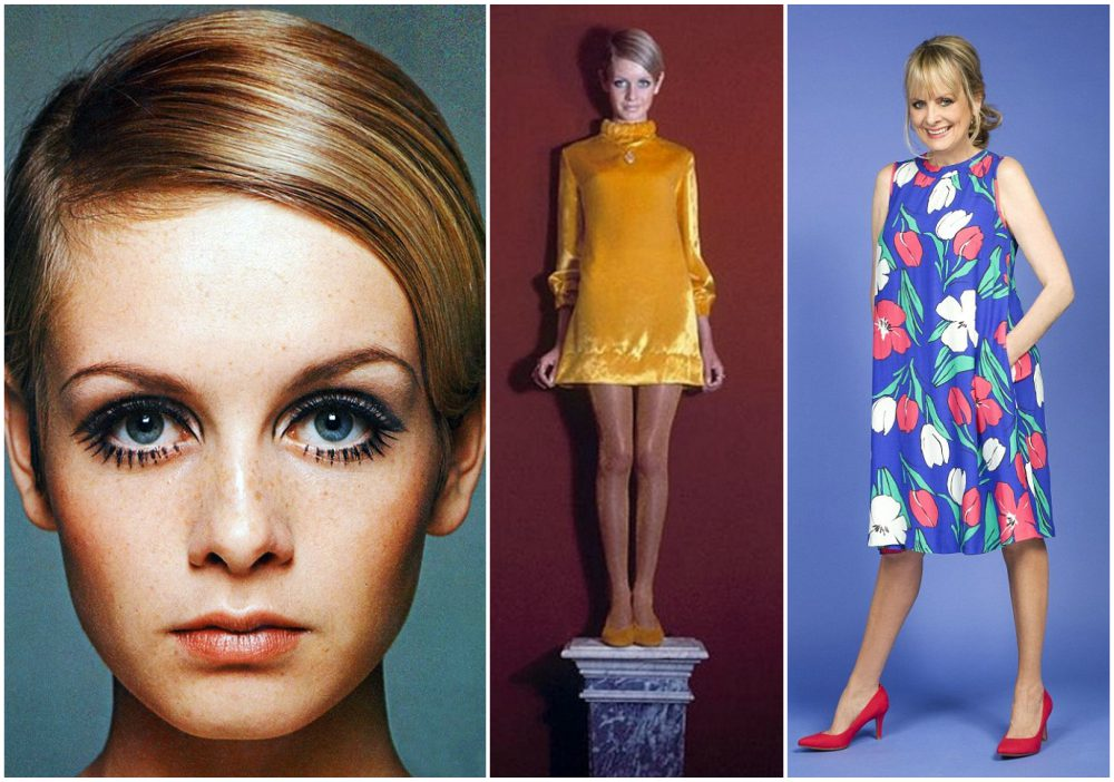 Twiggy height 1.72m / 5'8""