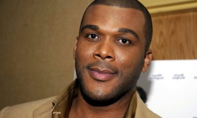 Tyler Perry`s eyes and hair color