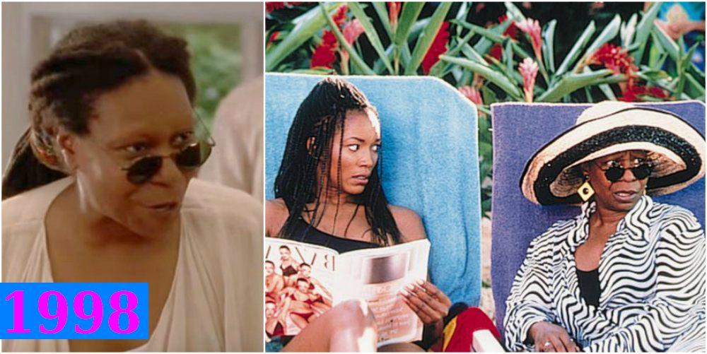 Whoopi Goldberg`s comedy roles - How Stella Got Her Groove Back, 1998