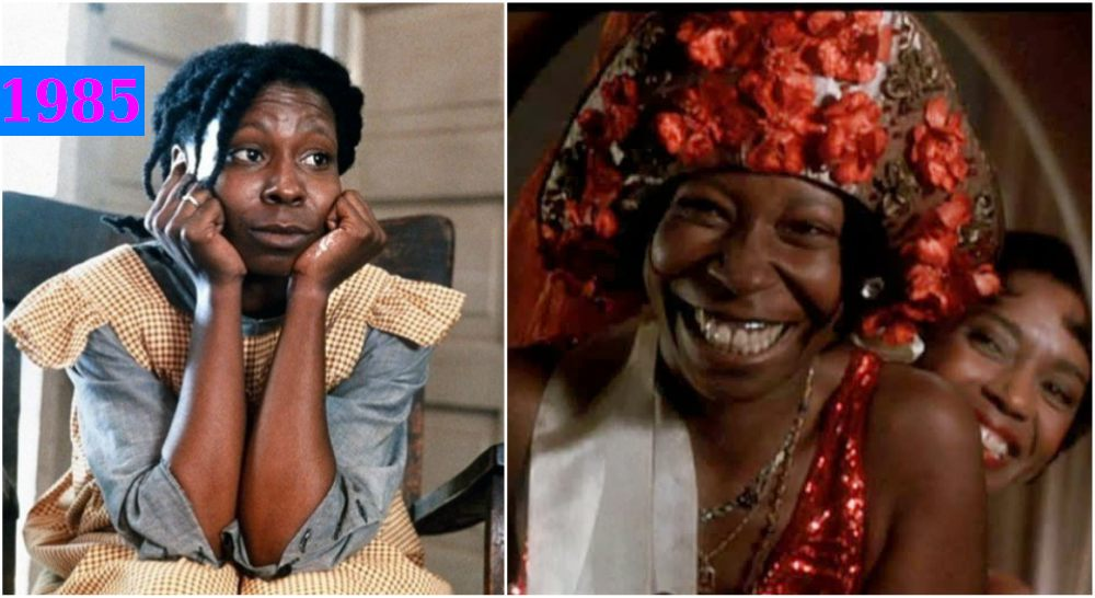 Whoopi Goldberg`s in The Color Purple, 1985