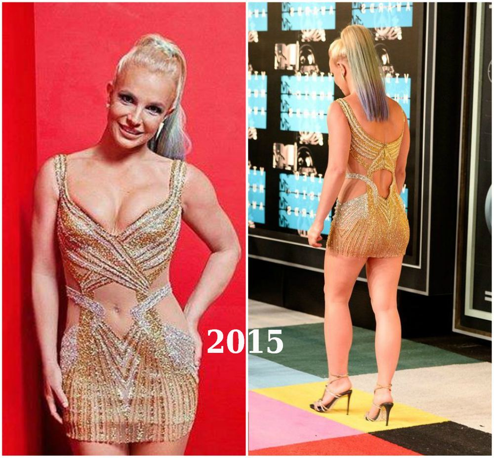 Britney Spears lose weight in 2015