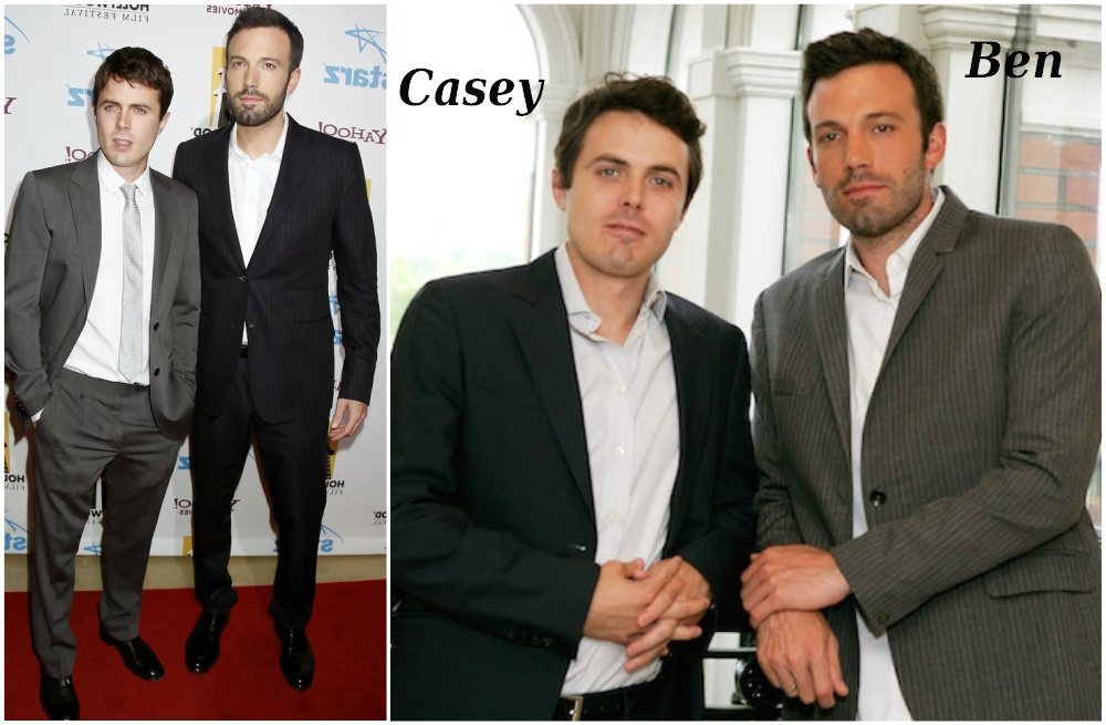 Famous siblings in Hollywood - Casey and Ben Affleck
