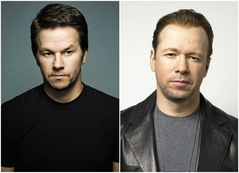 Famous siblings in Hollywood - Donnie and Mark Wahlberg