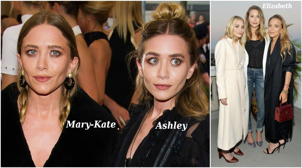 Famous siblings in Hollywood - Ashley, Elizabeth and Mary-Kate Olsen