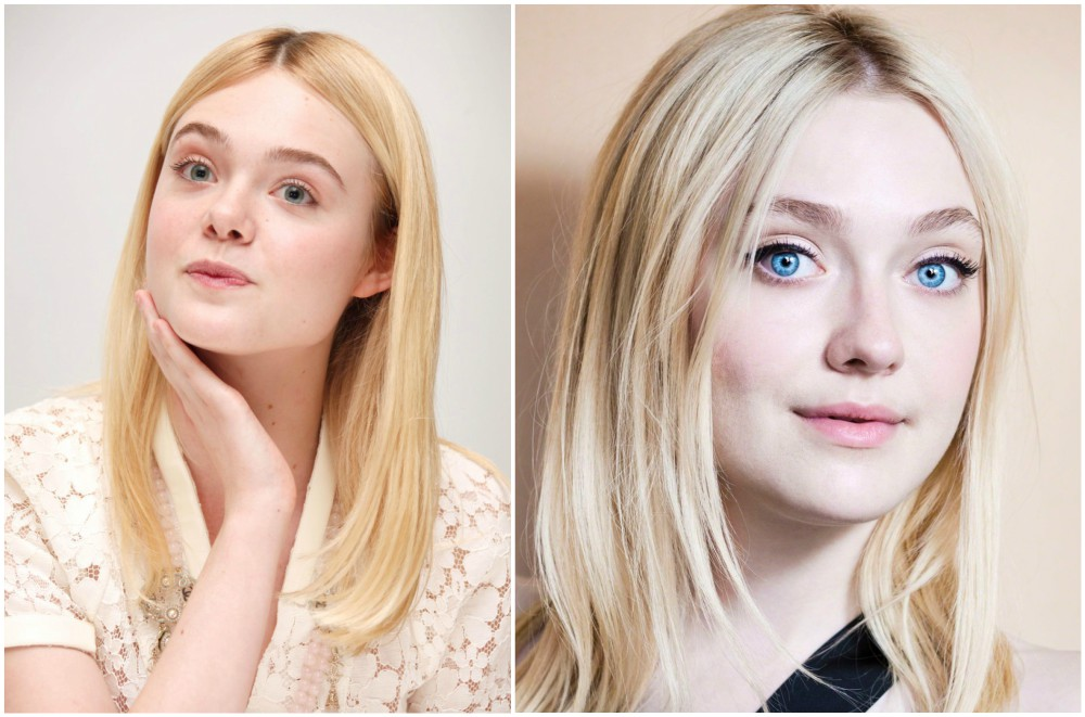 Famous siblings in Hollywood - Dakota and Elle Fanning