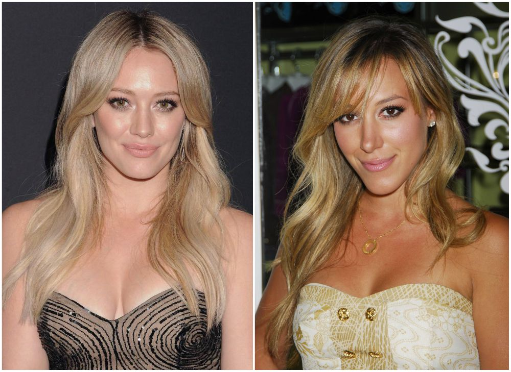 Famous siblings in Hollywood - Haylie and Hilary Duff