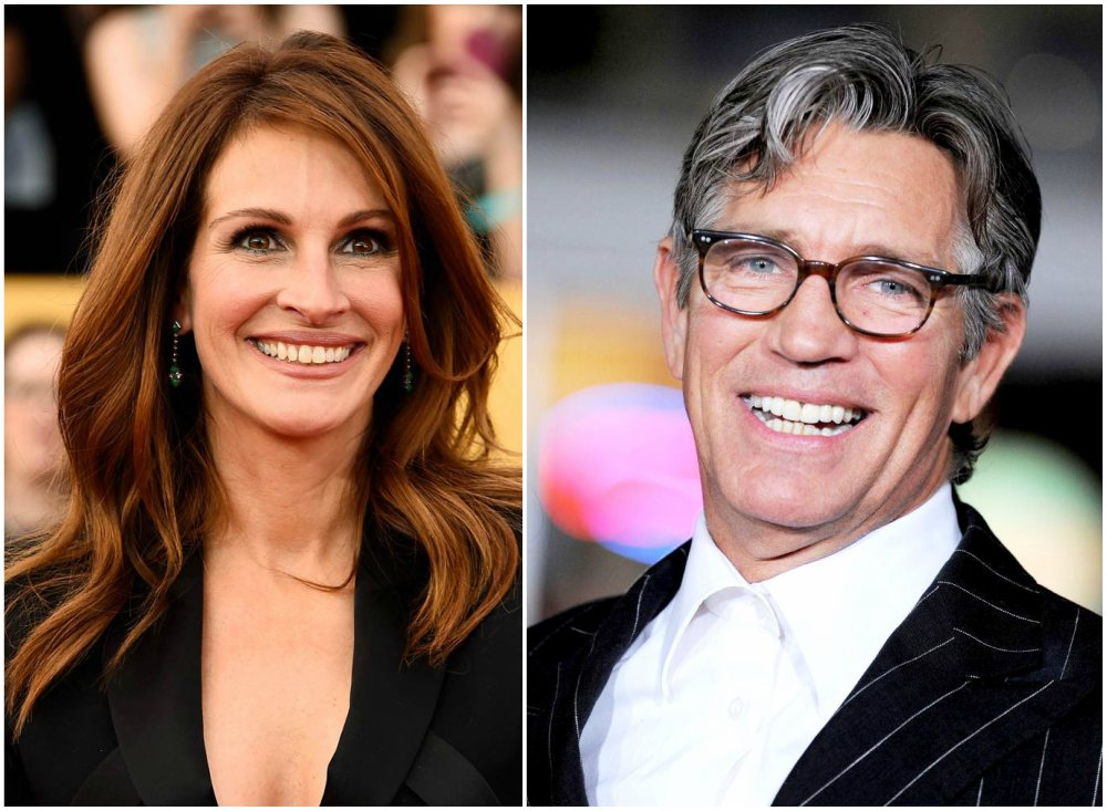 Famous siblings in Hollywood - Julia and Eric Roberts