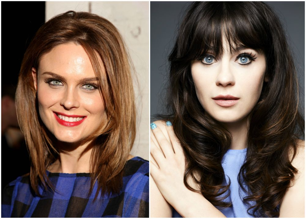 Famous siblings in Hollywood - Zooey and Emily Deschanel