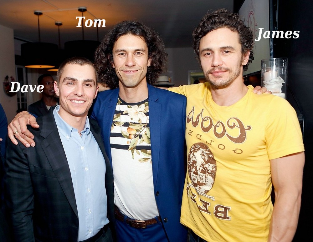 Famous siblings in Hollywood - Dave, Tom and James Franco