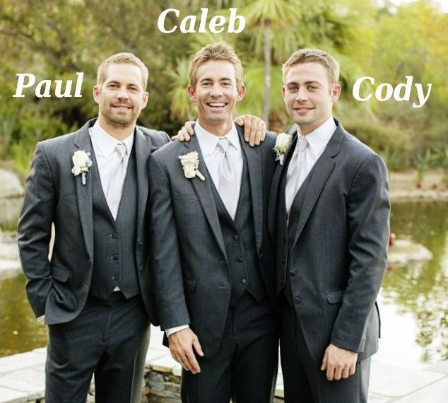 Famous siblings in Hollywood - Paul, Caleb and Cody Walker