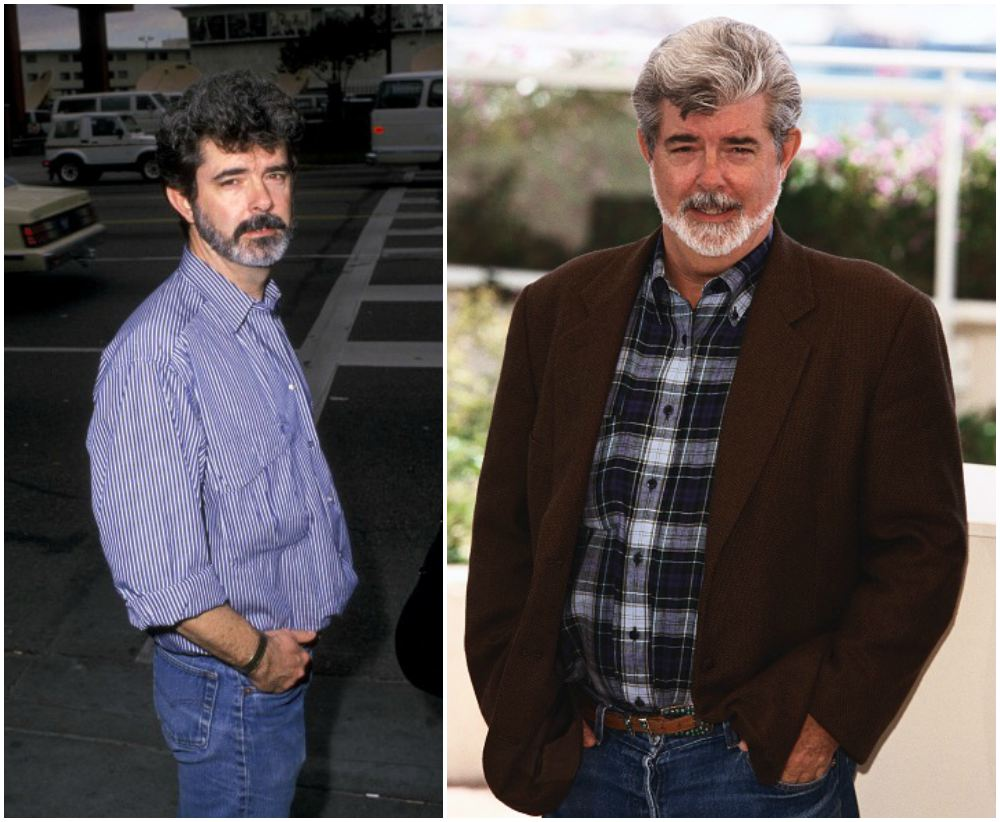 George Lucas` height, weight and age