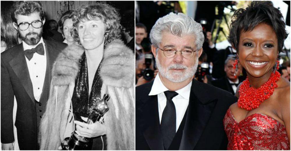 George Lucas` spouses
