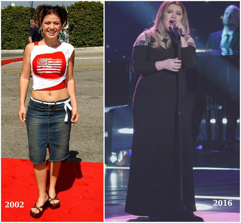 kelly clarkson to feel comfortable in her shape