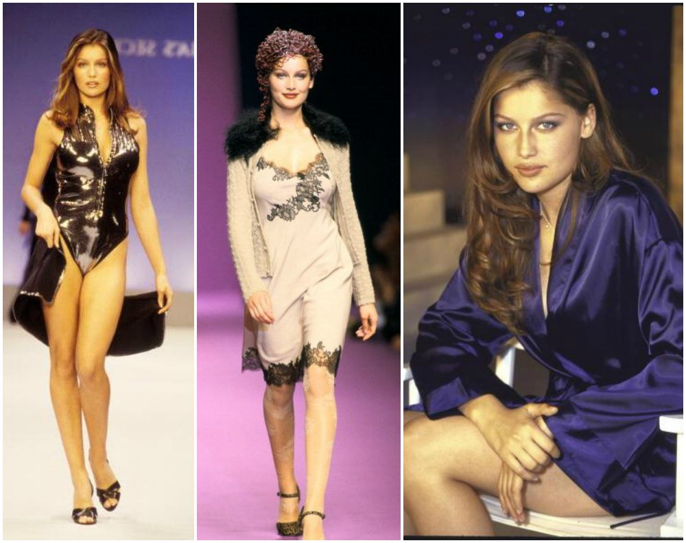 Laetitia Casta`s height, weight and age