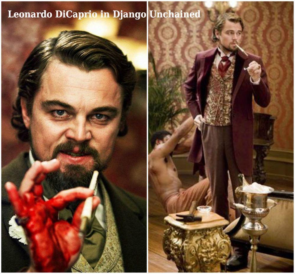 Leonardo DiCaprio in Django Unchained, 2012