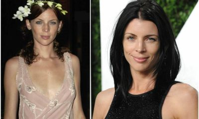 Liberty Ross` eyes and hair color