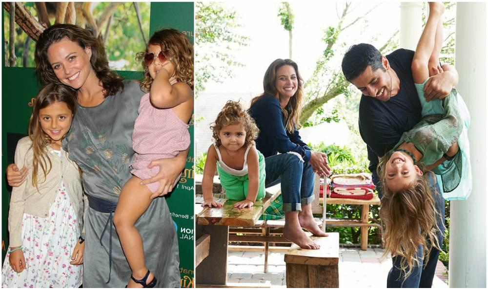 Josie Maran`s family