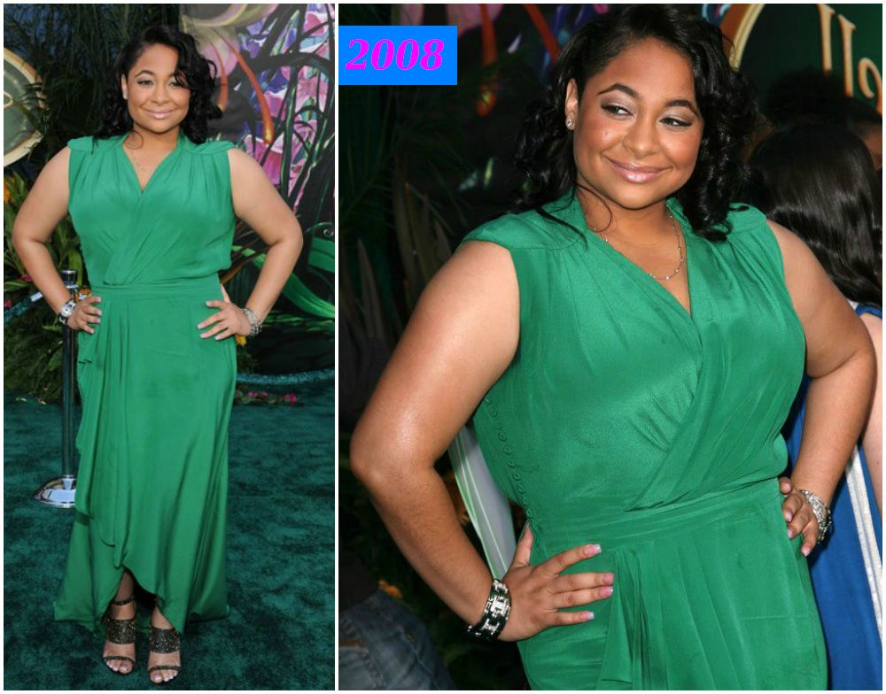 Raven-Symone`s gained weight in 2008