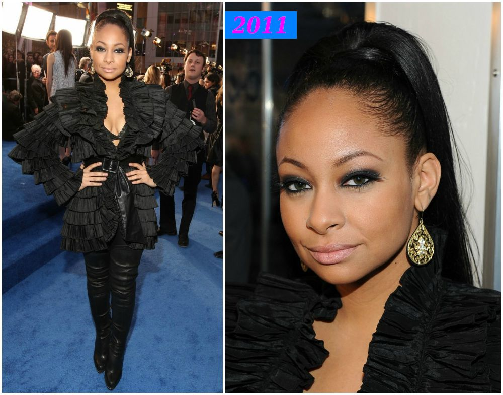 Raven-Symone weigth loss in 2011