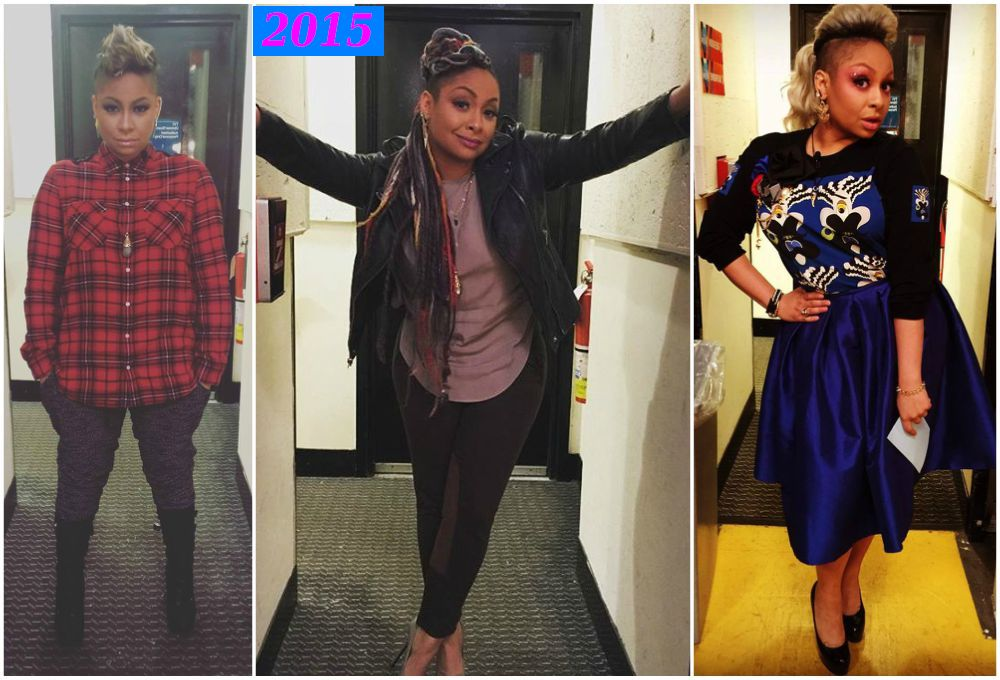 Raven-Symone`s gained some weight in 2015