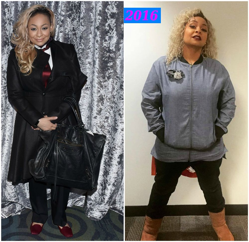 Raven-Symone`s gained some weight in 2016