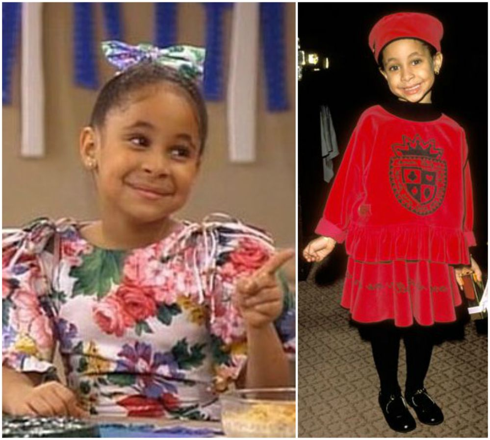 Raven-Symone as a child