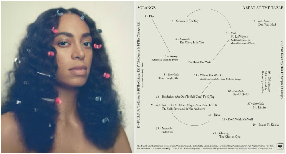 Solange Knowles 4 album - A Seat at the Table, 2016