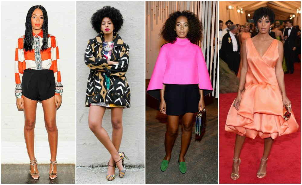 Solange Knowles best looks