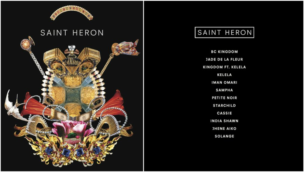 Solange Knowles 3 album - Saint Heron, 2013