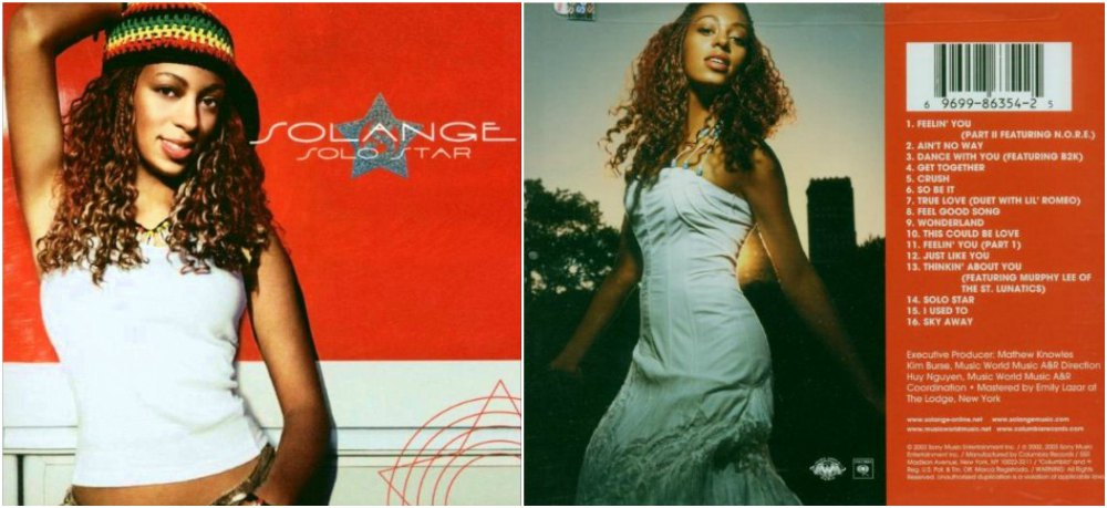 Solange Knowles first studio album - Solo Star