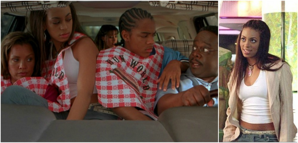 Solange Knowles in Johnson Family vacation, 2004