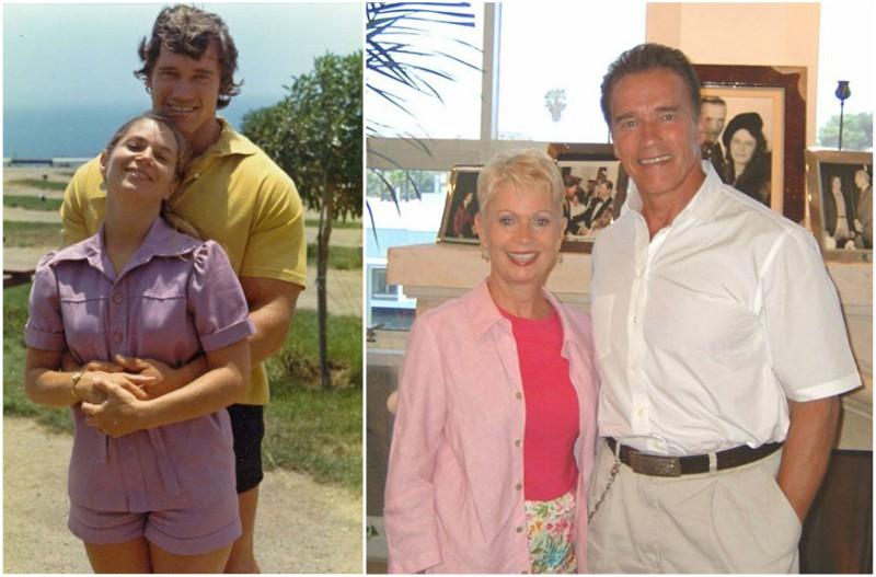 Arnold Schwarzenegger ex-girlfriend Brbara Outland Baker