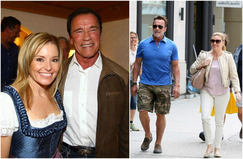 Arnold Schwarzenegger's girlfriend Heather Milligan