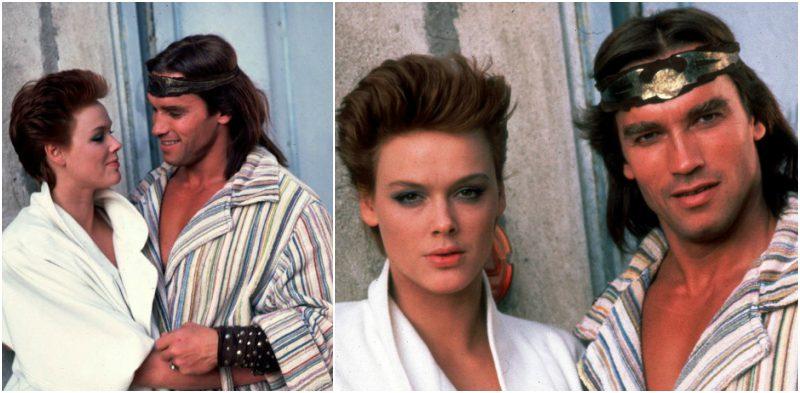 Arnold Schwarzenegger`s lover Brigitte Nielsen